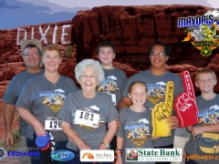 2015 St George Mayors Walk Photo  80 year old partisipant