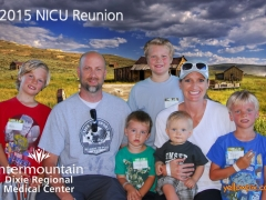 2015 NICU Reunion Photo  St George Uath