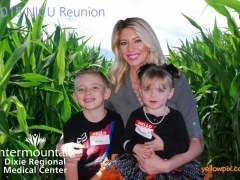 2015 NICU Reunion Photobooth at staheli Family Farms by yellowpix.com