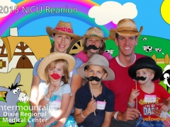 2015 NICU Reunion Photobooth photo by yellowpix.com St George, UT