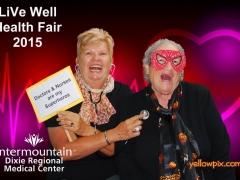 2015 DRMC Health Fair  LiVe Well Photos by yellowpix.com