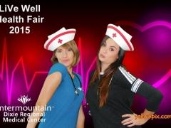 2015 DRMC Health Fair Photos at St George Utah by yellowpix.com photobooth