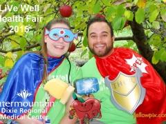 2015 DRMC Health Fair Super Hero Photobooth by yellowpix.com