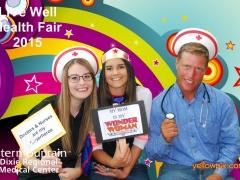 2015 DRMC Health Fair Photo booth volunteers