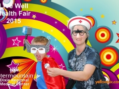 2015 DRMC Health Fair Photobooth Super Heros by yellowpix.com