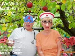 2015 DRMC Health Fair Photobooth by yellowpix.com