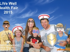 2015 DRMC Health Fair Photos St George UT photobpooth by yellowpix.com