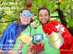 2015 DRMC Health Fair Super Hero Photobooth by yellowpix.com