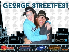 2015 George Festival Photo booth main street st george yellowpix.com