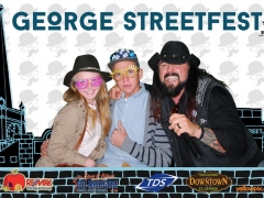 2015 George Festival Photo booth with Ragan Cane St George Uath yellowpix.com