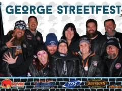 2015 George Festival Baca Biker Group Photo booth yellowpix.com