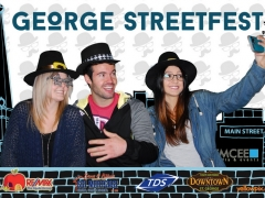 2015 George Festival street fest selfie Photobooth by yellowpix.com