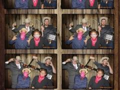 Western Wedding photobooth strip by yellowpix.com
