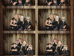 Wedding Southern Utah photo strip by yellowpix.com photobooth