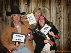 Western Photobooth fun by yellowpix.com