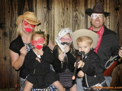 Western Wedding Green Screen Photo Booth by yellowpix.com