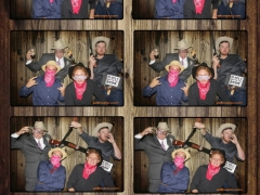 Western Wedding photobooth strip by yellowpix.com