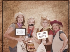 IHC Wanted Poster Photo with fun signs