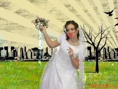 Bride_Toss